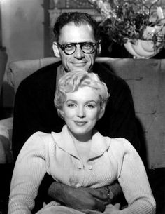 The American actress Marilyn Monroe posing for a photograph with her husband Arthur Miller, an American dramatist and writer. Get premium, high resolution news photos at Getty Images