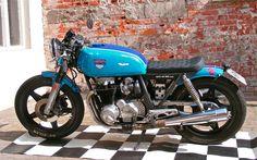 CB650 Blau | Inazuma café racer