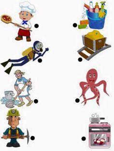 Toldalék -val,,-vel Preschool Jobs, Preschool Activity Books, Preschool Learning Activities, Preschool Worksheets, Educational Activities, Teaching Kids, Activities For Kids, English Worksheets For Kids, Toddler Fun