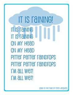 preschool song weather
