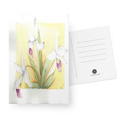 Cartão Orquídeas do Studio Dutearts por R$ 30,00