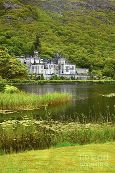 Kylemore Abbey  Ireland. I want to go see this place one day. Please check out my website thanks. www.photopix.co.nz