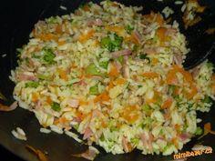 Rychlá a chutná rýže na Wokovi - vhodné i pro bezlepkáře