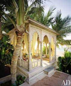 Traditional Outdoor Space and Savin Couëlle in Dubai, United Arab Emirates