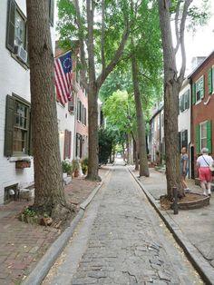 Philly street scene