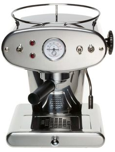 For over 4 years, this puppy has graced my kitchen and pumped out thousands of espresso shots. The Illy Francis Francis X1.