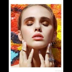 Model Lyzy Adler Appears In Fashion Gone Rogue Makeup By Brandie Hopstein Photography