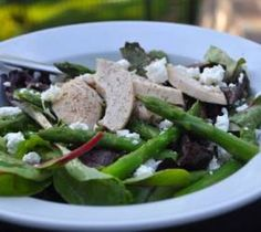Chicken and Asparagus Salad with Citrus Dressing, Our Everyday Dinners