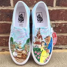 Outfits With Vans – Lady Dress Designs Disney Painted Shoes, Painted Canvas Shoes, Painted Vans, Disney Vans, Disney Shoes, Disney Outfits, Disney Clothes, On Shoes, Me Too Shoes