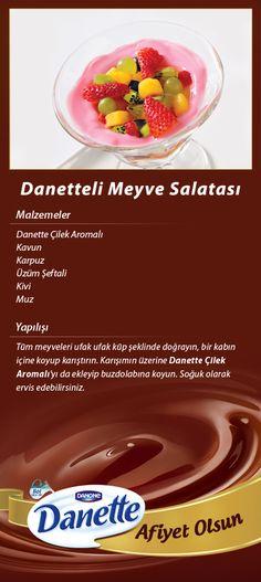 Danette'li Meyve Salatası