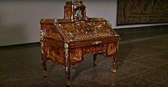 With The Turn Of A Key, This 18th Century Writing Desk Turns Into Something Incredible!   Dusty Old Thing