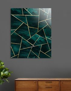26 Rustic Bedroom Design and Decor Ideas for a Cozy and Comfy Space - The Trending House Geometric Painting, Geometric Decor, Abstract Art, Geometric Artwork, Geometric Designs, Geometric Shapes, Cadre Design, Small Bedroom Designs, Diy Canvas Art