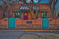 New Mexico Art - Wagner Casitas  by Charles Muhle