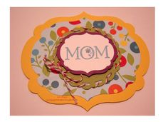 Card for MOM for Mother's day or any special day.  Using Stampin Up's new Framlits.  Quick and easy to use.  Great for Layering.  Garage Girl Stampin