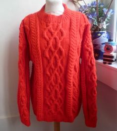 Traditionally hand knitted sweater #bexknitwear