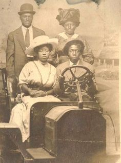 1910 African American Photograph Possibly Birmingham Alabama