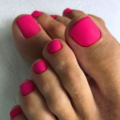 Amazing Toe Nail Colors To Choose For Next Season - Matte Pink Design Nails For Toes ❤ Amazing Toe Nail Colors To Choose For Next Season ❤ See more - Pink Toe Nails, Pretty Toe Nails, Toe Nail Color, Cute Toe Nails, Summer Toe Nails, Feet Nails, My Nails, Matte Nails, Gel Toe Nails