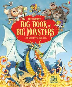 Big Book Of Big Monsters, Big Books Of Big Things By Louie Stowell, 9781409549963., Literatura dziecięca