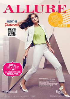 ALLURE Spring Postcard Series 3. The best of fashion and more at Botany Town Centre.