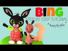 Come on in and make this BING rabbit cake topper, perfect for any little CBeebies Birthday Party! This week I was asked to create a BING cake topper it was A. 2 Birthday Cake, Birthday Cake Toppers, 2nd Birthday Parties, Birthday Party Decorations, Bing Cake, Bee Cakes, Rabbit Cake, Cake Topper Tutorial, Cake Youtube