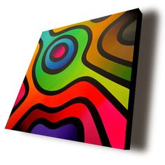New Life acrylic on box canvas by A Hone Mandala Painting, Mandala Art, Abstract Face Art, Valentines Art, Circle Art, Shape Art, Cubism, Geometric Art, Art Techniques