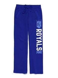 Have you seen these? Kansas City Royals Boyfriend Pant - Victoria's Secret Pink® - Victoria's Secret