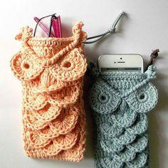 owl phone bag