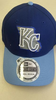 Kansas City Royals State Flect 39THIRTY Stretch Fit Hat by New Era