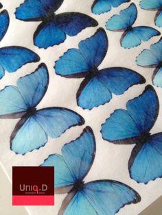 36 royal blue wedding butterflies favors on sale  FREE by uniqdots Keywords: #weddings #jevelweddingplanning Follow Us: www.jevelweddingplanning.com  www.facebook.com/jevelweddingplanning/