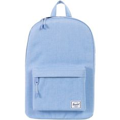 Herschel Classic Backpack ($40) ❤ liked on Polyvore featuring bags, backpacks, blue, accessories, herschel supply co backpack, herschel supply co bag, blue backpack, blue striped bag and striped backpack
