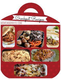 20 Crockpot Recipes - Mom's Madhouse #crockpot #recipes