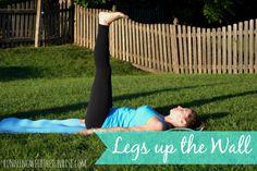 # 6 Legs Up The Wall (Viparita Karani)  Morning poses for beginners