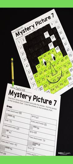 These color by number place value mystery pictures are my favorite Halloween place value activity. I love that there are 8 mystery pictures included in this pack. First Grade Writing, Teaching First Grade, Second Grade Math, Place Value Activities, First Grade Activities, Book Activities, Number Place Value, Place Values, Halloween Color By Number