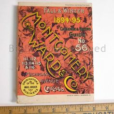 Vintage 1977 Montgomery Wards & Co Fall and by BigBTumbleweed