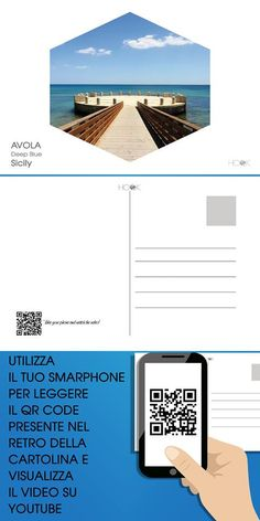 La cartolina multimediale di #Avola  #QRcode