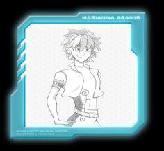 Marianna Aramis Character: Keithan Quintero and the Sky Phantoms