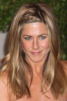 Perfect boho hair from Jennifer Aniston #weddingideas