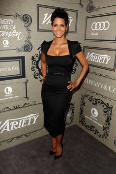 Halle Berry at Variety's 4th Annual Power of Women event, October 2012 Getty Images  - HarpersBAZAAR.com