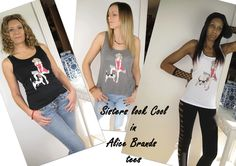 Alice Brands Tees and Tanks look great which ever way. Made from soft materials with unique designs and all ideal for gym workouts, holidays or just chilling. Look cool and sassy and check out more on our websites. http://etsy.com/uk/shop/AliceBrands … …  http://alicebrands.co.uk/Pages/3/All+Products … …