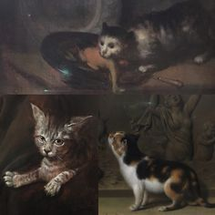 Found some old masters' oil paintings with cats while visiting National Gallery :)  www.facebook.com/Slothstudio