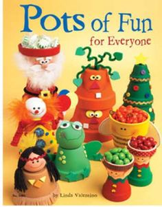 crafting with clay pots | Clay Pot Craft Book Pictures