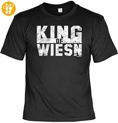 Oktoberfest T-Shirt - King of Wiesn - Funshirt mit lustigem Spruch als Ersatz für Dirndl und Lederhose, Größe:4XL - Shirts mit spruch (*Partner-Link)
