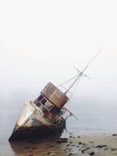 Fog and sea. Moss Landing, CA.   Flickr - Photo Sharing!