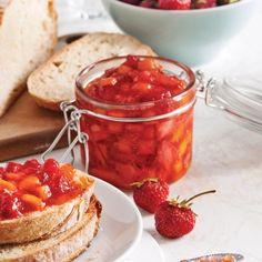 Confiture de fraises et mangue à congeler - Recettes - Cuisine et nutrition - Pratico Pratique