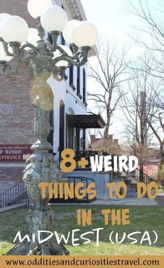 Weird Things to Do in the Midwest (USA) That Are Strange & Unusual Vacation Places In Usa, Places To Travel, Travel Destinations, Usa Travel Guide, Travel Usa, Beautiful Places To Visit, Cool Places To Visit, Travel Inspiration, Travel Ideas