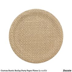 Custom Rustic Burlap Party Paper Plates  sc 1 st  Pinterest & Railroad Train Paper Plates 80th Birthday Custom Paper Plate