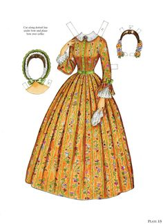 Paper Dolls~Godey's Early Victorian Fashions - Bonnie Jones - Álbumes web de Picasa