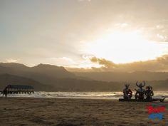 Ultraman family at hawaii