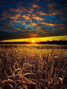 Nebraska sunrise; ¡qué serenidad!