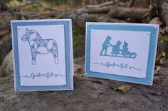 Mitt Lille Papirverksted: God Jul med Hest & Kjelke